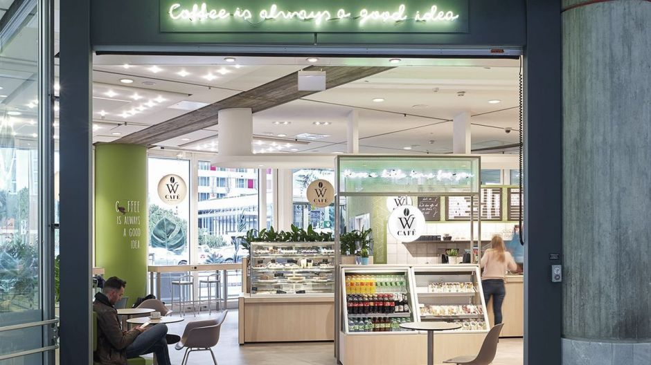 The transport gastronomer Wöllhaf has presented its own coffee bar concept at Stuttgart Airport.