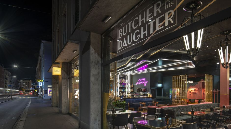 The Butcher & his Daughter in Zurich is the new burger, chicken, bowls and cocktail concept of the Swiss family Wiesner Gastronomie.