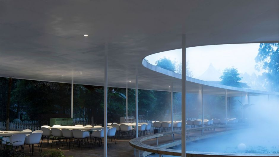 Garden Hotpot (Chengdu, China) from the pen of MUDA Architects is the overall winner in the restaurant category.