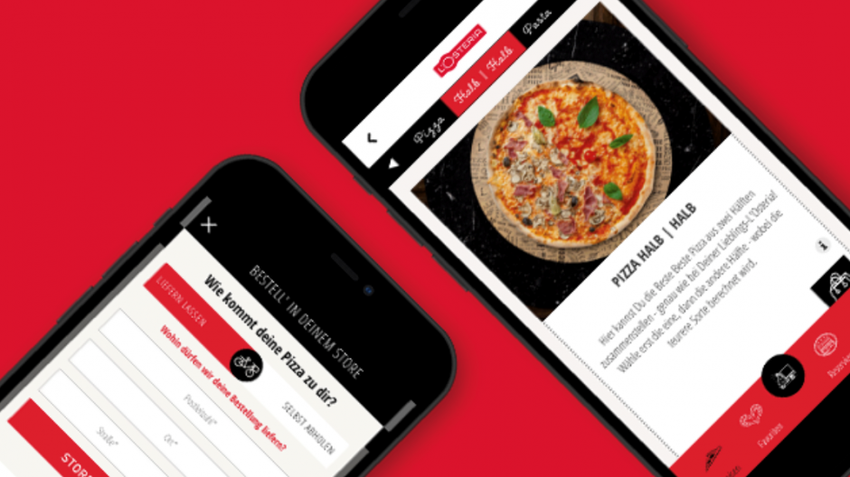 With L'Osteria Delivery, the ordering and delivery service of the Italo-Fullservice formula is developing into its own brand. In April, this was set up and further expanded with the cooperation partner Sixt. In the meantime, there is its own corporate design for the delivery operation, its own fleet and its own app.