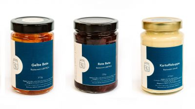 Small but fine and freshly handmade - delicatessen in a jar for shipping.