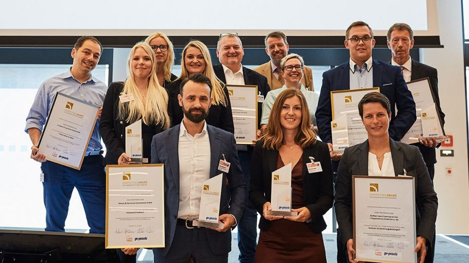 Die Preisträger des Marketing.Awards 2018.