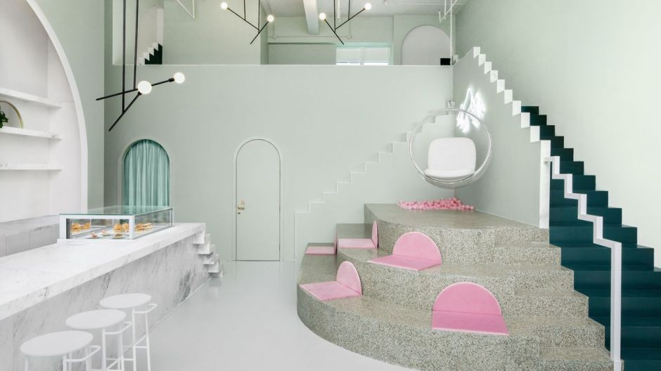The Budapest Café, Chengdu, China. Design: Biasol, Kategorie: Farbe.