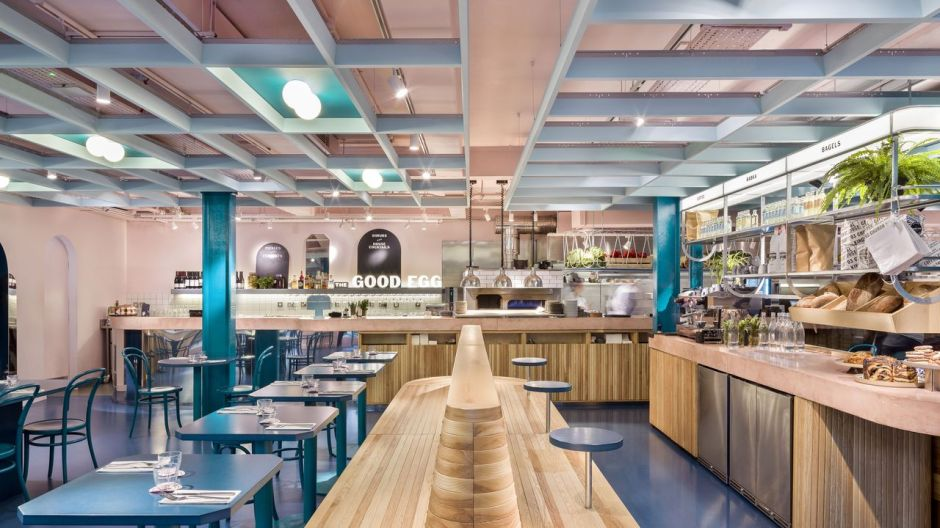 The Good Egg, London, UK. Design: Gundry & Ducker, Kategorie: Fast Casual.