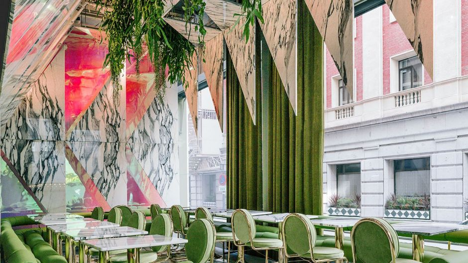 Romola, Madrid, Spanien. Design: Office for Political Innovation, Kategorie: Restaurants in Europa.