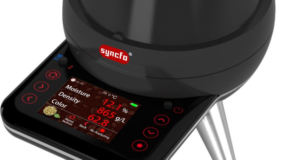 Syncfo 4 in 1 Universal Coffee Analyzer von Krator Technology: Technologie.