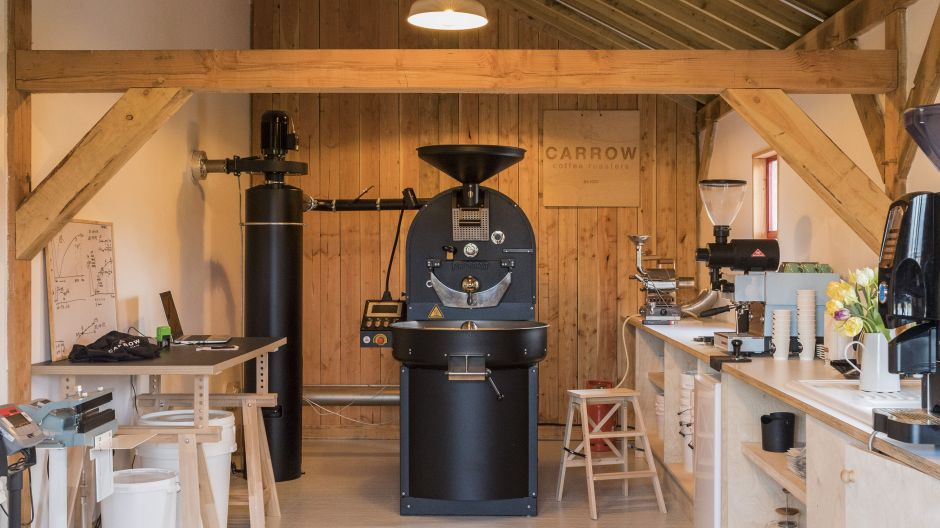 Design Labs Awards: Carrow Coffee Roastery, entworfen von Carrow Coffee Roasters: Kategorie Raum.