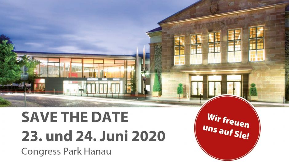 Save the date für das 30. IMF.