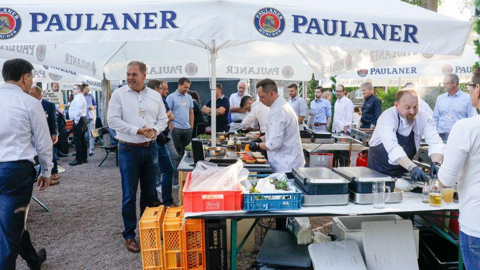 Imf Hanau Sommerparty Im Biergarten