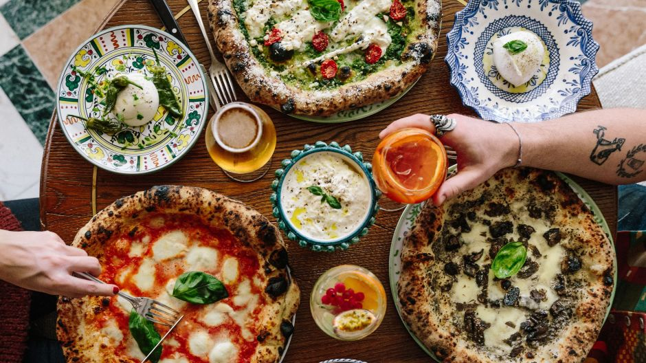 Das gemeinsame Essen wird im Gloria zelebriert wie in Italien.