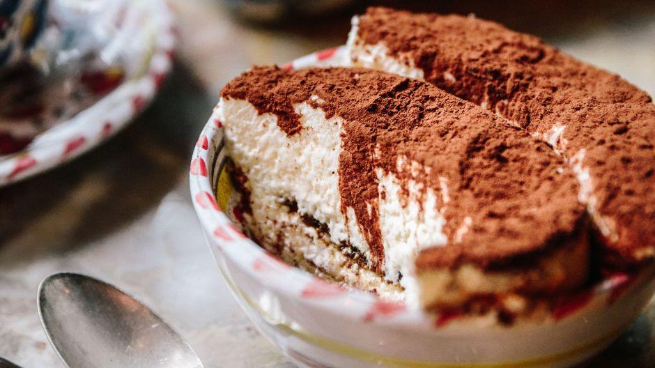 Tiramisu darf natürlich nicht auf der Dessertkarte fehlen.