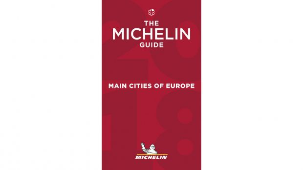 "Michelin Guide ""Main Citys of Europe 2018"""