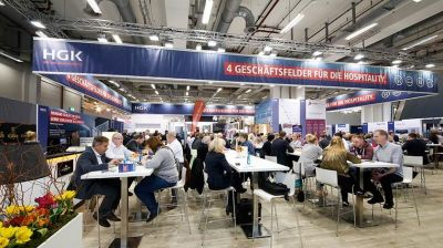 HGK Messestand Internorga 2018