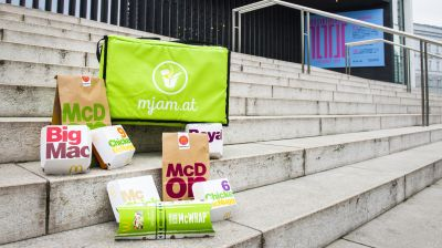 McDelivery startet in Linz