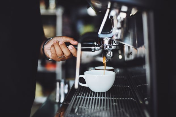 The largest coffee bar chains in Europe have once again increased the number of their locations.