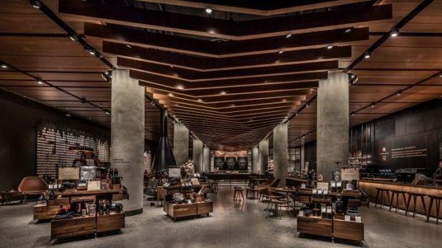 Starbucks Spektakul 228 Re Premiere F 252 R Reserve Store In Seattle