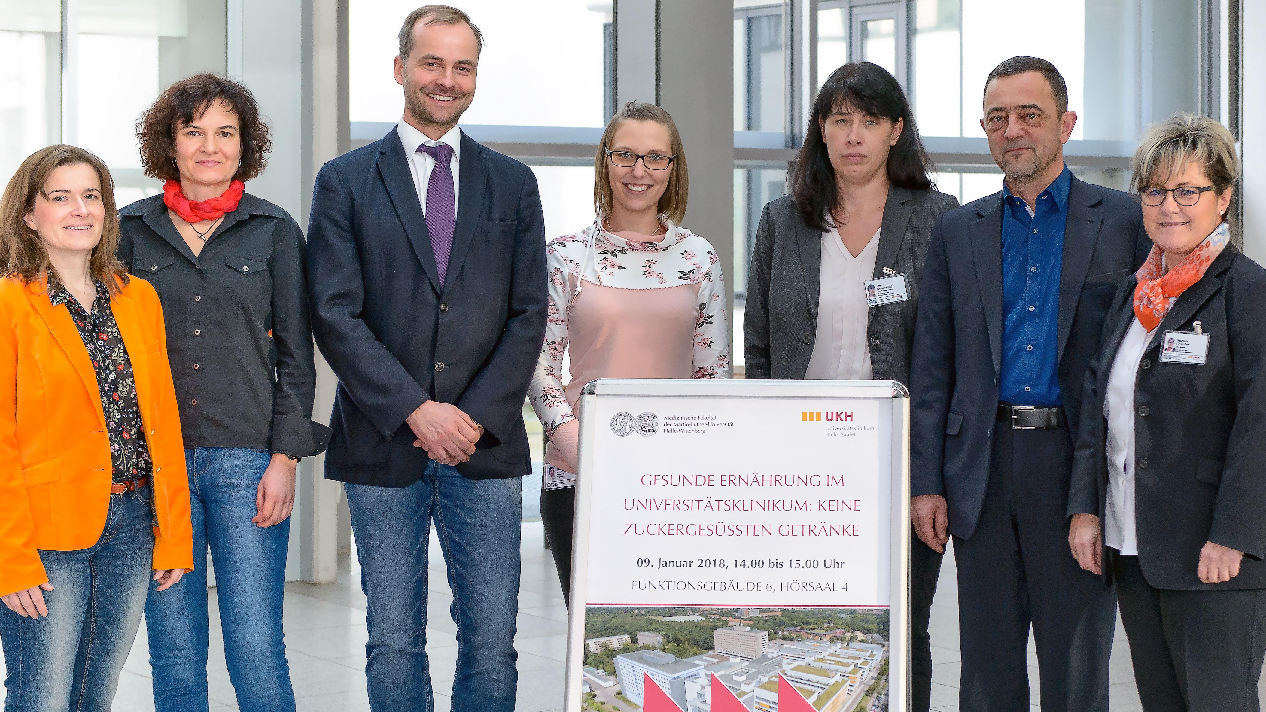 Klinikum Halle: Taskforce gegen Zucker