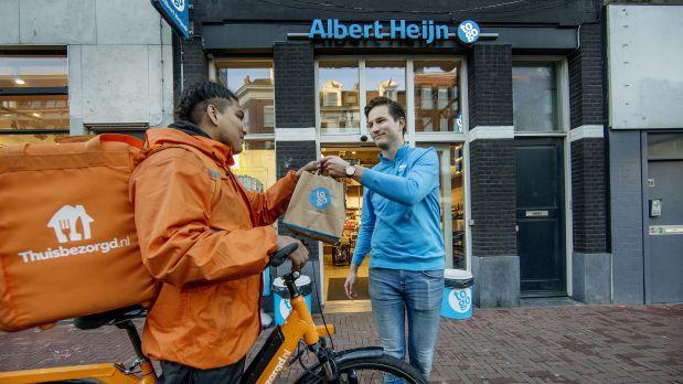 Albert Heijn Niederlande Supermarktkette Erweitert