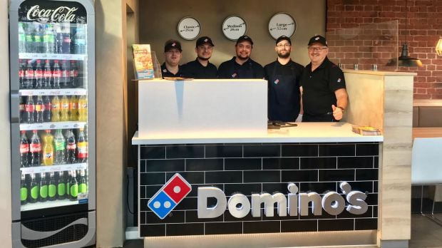 Das Domino's Team in Cottbus.