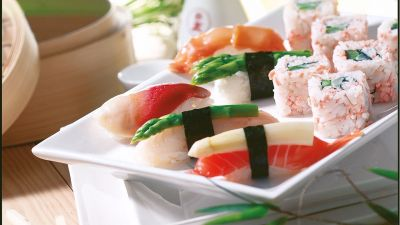 Sushi-Kreation von ManThei.