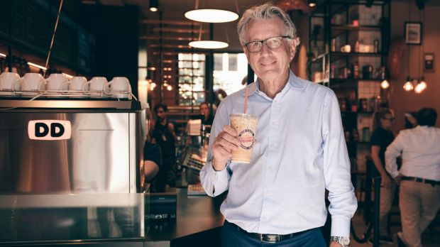 Nigel Travis, Executive Chairman Dunkin' Brands.