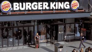 Die Burger King Filiale am Alexanderplatz.
