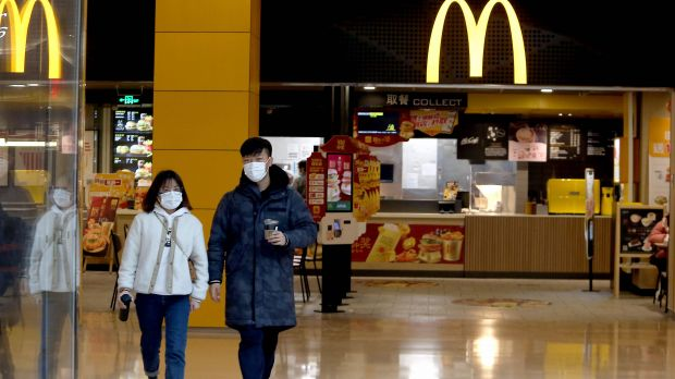 McDonald's is temporarily closing numerous sites in China because of the coronavirus.