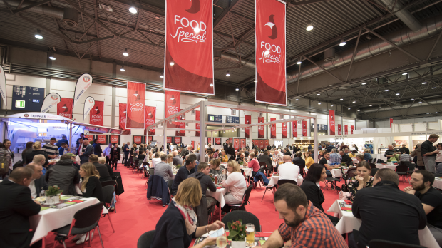 """Messe in der Messe"": Die Food Special in Halle 1."