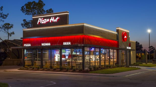 Pizza Hut plans to close 300 locations in the USA.