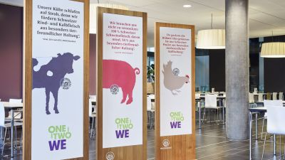 With its catering services at the University of Basel, SV Schweiz is implementing a special sustainability concept.