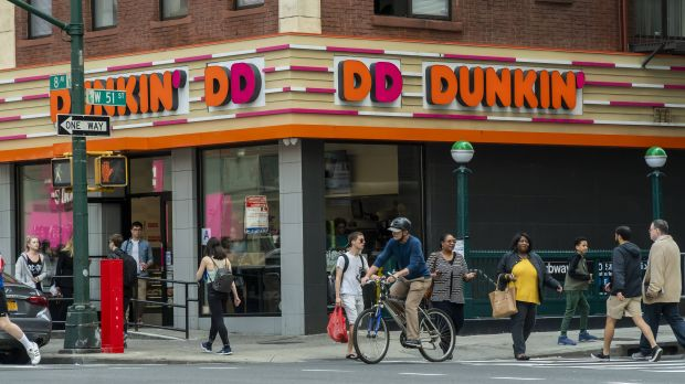 "Since the rebranding at the beginning of 2019, ""Dunkin'"" is missing the ""Donuts""."