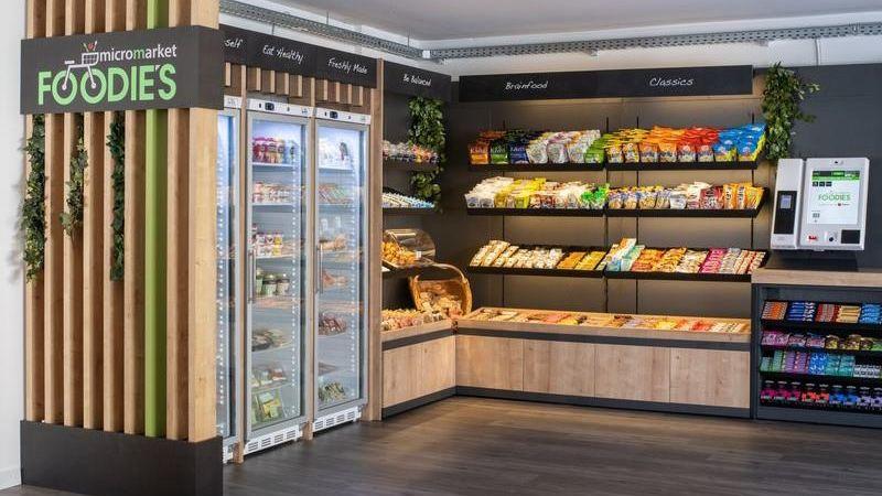 """Selecta """"Foodie's"""": Erster Micro-Market in Deutschland"""