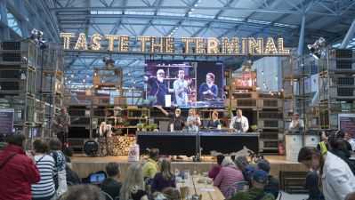 Veranstaltungs-Highlight 2019 am Airport Düsseldorf: das Food-Festival Taste the Terminal.