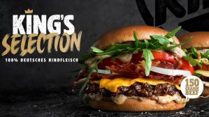 Burger King neue Selection-Produktlinie