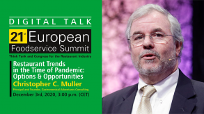 Christopher Muller, Ph. D. will be the speaker at the 2nd Digital Summit Talk.