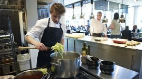 In Denmark, organic food accounts for a 41 percent share of the total food service market.