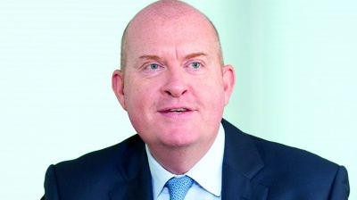 Dominic Blackmore, Group Chief Executive, Compass Group