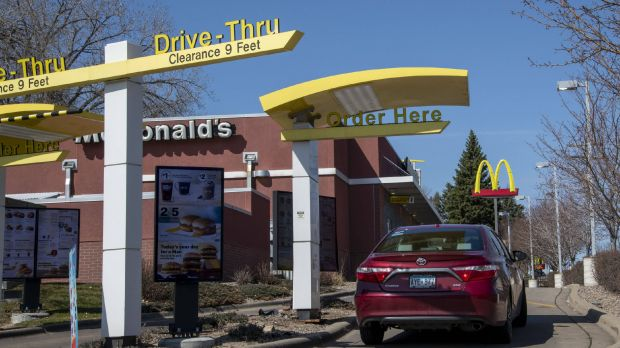 Many people still prefer drive-through counters.