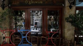 Restaurants in Athens will also remain closed for the time being.