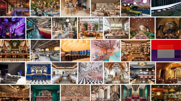 This year's winners of the prestigious Restaurant & Bar Design Awards 2020.