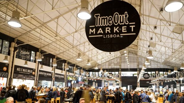 Time out Market in Lisbon
