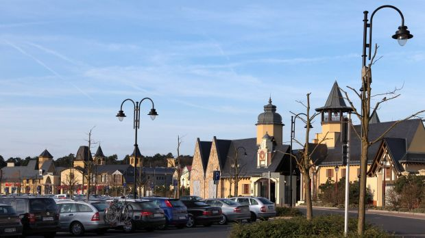 In Germany, the potential for outlet centres (here: Wertheim Village) is far from exhausted.